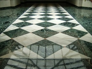 cleaning marble floors