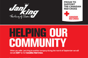 Refer Jani-King Canada to Another Business and We'll Donate $25*!