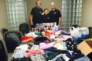 Jani-King Customers and Franchisees Support Donation Drive In Winnipeg