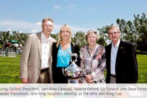 Jani-King Kicks off 2016 Partnership with Spruce Meadows