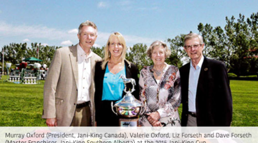 Jani-King Kicks off 2016 Partnership with Spruce Meadows
