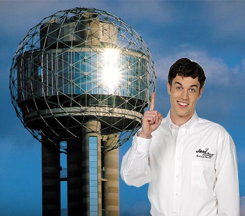 Cleaning Reunion Tower An Iconic Dallas Landmark Jani King