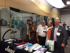 Jani-King of Oregon team attends Oregon Ambulatory Surgery Center Association Conference in Portland to discuss Jani-King's healthcare cleaning services