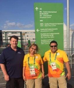 jani king cleaning brazil olympics