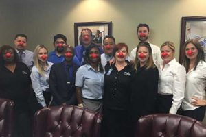 Jani-King Gulf Coast Gets Behind Comic Relief's Red Nose Day