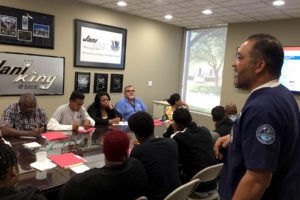 Dallas Hosts Franchisee EVS Training/Certification Course