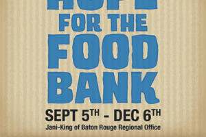 Bring Hope to the Baton Rouge Food Bank
