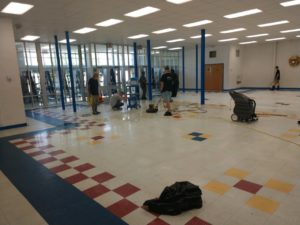 school cleaning professionals
