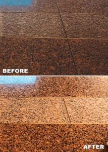 Natural Stone Before and After Cyclone jani king