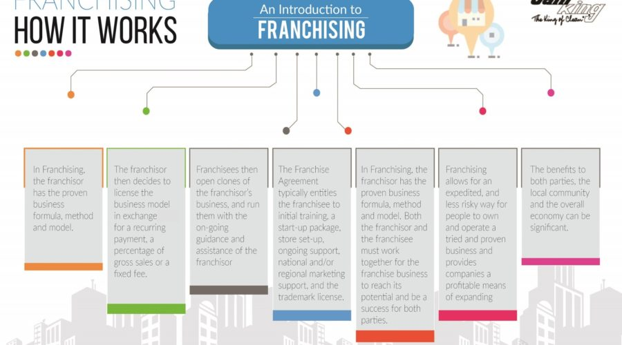 An Introduction to Franchising-How Franchising Works; Infographic