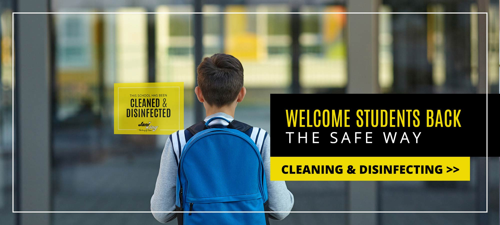 school cleaning and janitorial services