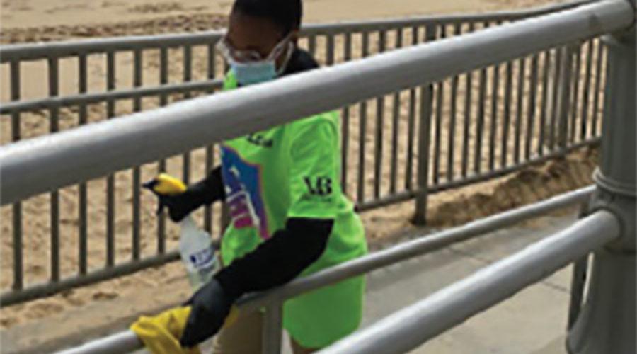 Jani-King Clean Teams Deployed on Virginia Beaches