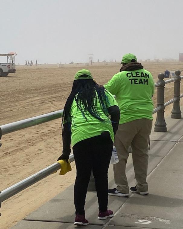 clean team jani king virginia beach