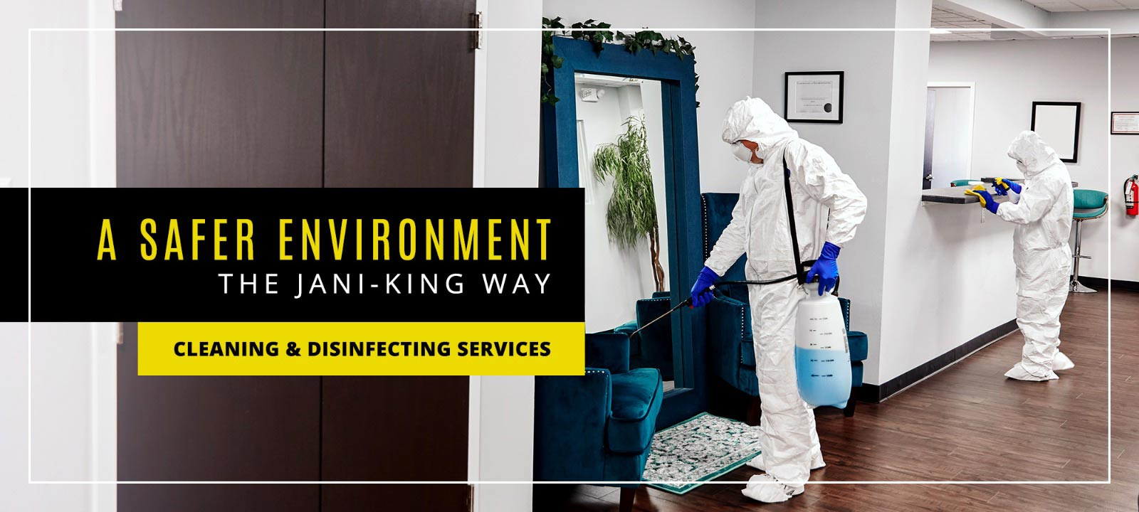 jani king commercial cleaning disiinfecting services janitorial services