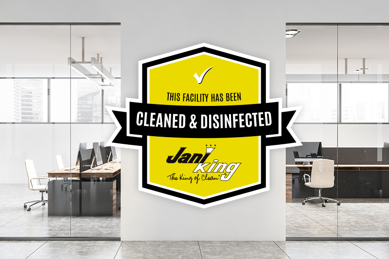 cleaned disinfected Cleveland commercial cleaning company
