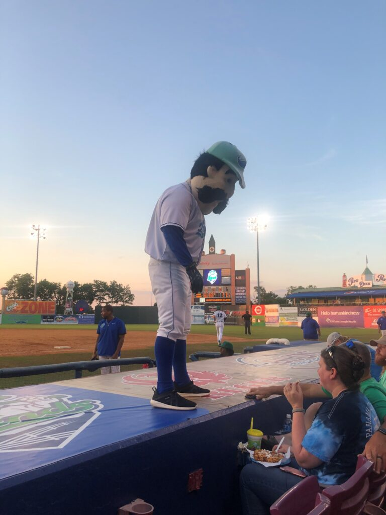 Lexington Legends Mascot
