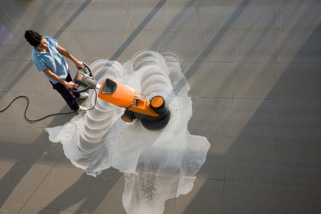Refinishing Floors - The Jani-King Way